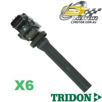 TRIDON IGNITION COIL x6 FOR Suzuki Grand Vitara SQ 09/05-07/08, V6, 2.7L H27A