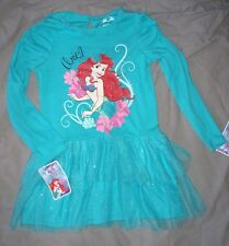 robe neuve etiquetée disney princesse arielle taille 5 ans coton