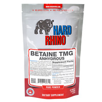 Betaine Trimethylglycine TMG Powder Hard Rhino Supplements