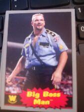 2012 Topps WWE Wrestling Heritage #61 Big Boss Man SILVER Parallel SP