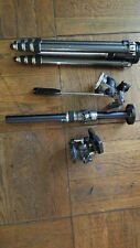 Gitzo Brevets S.G.D.G With Studio Head And Ball Head. And Horizontal Extender.