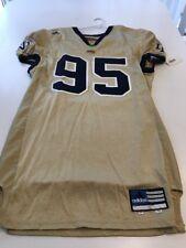 Game Worn Used Notre Dame Fighting Irish Football Jersey #95 Size 50