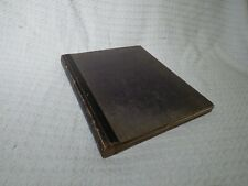 Antique Victorian Scrap Book Album – 100 Cuttings Engravings Images