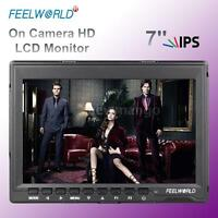 "FEELWORLD FW759 7"" HD 1280*800 IPS LCD Video Camera Field Monitor Display Screen"