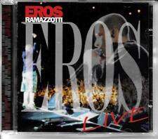 CD ALBUM LIVE 17 TITRES--EROS RAMAZZOTTI--EROS LIVE