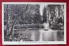 Carte postale ancienne VICHY - Bassin dans les Nouveaux Parcs