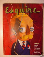 ESQUIRE Magazine January 1950 Al Moore Pinup Girl Frederic Remington Henry Kane
