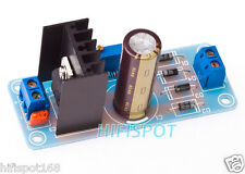 LM317 linear adjustable power supply board rectified PSU kit