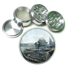 "Washington D.C. D8 Aluminum Herb Grinder 2.5"" 63mm 4 Piece Landmarks"