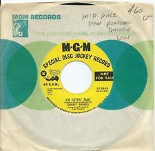 Ginny Arnell:I'm gettin' mad/I'm so afraid of loving you:US MGM DJ:Popcorn