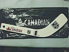 MOLSON CANADIAN MINI NHL TEAM HOCKEY STICK WITH BOTTLE OPENER -10 TO CHOOSE FROM