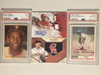 PSA Baseball Card Lot & Auto / Relic