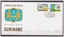 Surinam / Suriname 1979 FDC 35 Year of the child jahres des kindes annee  enfent