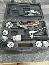 Mastercool 71600 7 Head Hydraulic Swage Tube Expander Kit Used