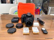 Canon EOS Rebel T4i 605D Digital Camera -Kit w/18-55mm IS II Lens ~NICE