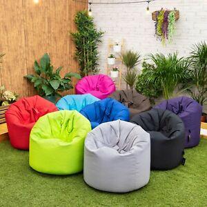 Garden Beanbag Chair Outdoor Indoor Water Resistant Bean bag Lounger Gaming Seat