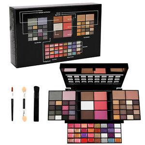 74 Colors Makeup Palette Eyeshadow Lip Gloss Blush Concealer Highlight Set Kit