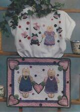 Pattern-Adorable Cat & Watermelon Applique-Quilt & More-Homestead Station
