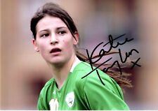 KATIE TAYLOR HAND SIGNED PHOTO WITH COA