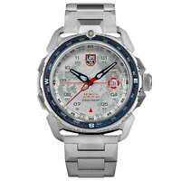 Luminox Men's Watch Ice-Sar Arctic 1200 Series Silver Tone Dial Bracelet 1207