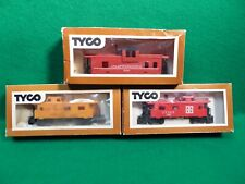 3 Tyco Ho Scale Caboose