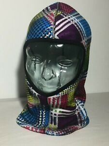 Seirus Warm Head Neck Face Coverage Fun Color Print Size L/XL Performance Fleece