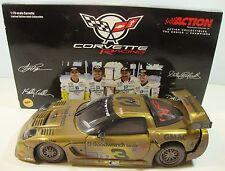2001 #3 Chevrolet Corvette C5-R Action 1:18 Die Cast  Earnhardt Gold RaceVersion