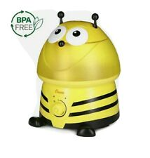 Crane Adorables Ultrasonic Cool Mist Humidifier Yellow Bumble Bee