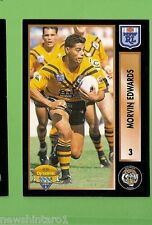 1994 Series 2 RUGBY LEAGUE CARD #3 MORVIN EDWARDS, BALMAIN TIGERS