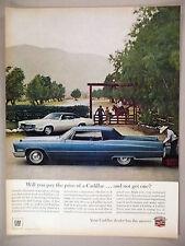Cadillac PRINT AD - 1967