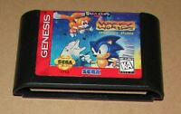 Wacky Worlds Creativity Studio for Sega Genesis Fast Shipping! Authentic