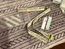 Off-White Industrial Belt (SS19) Fluo Yellow ⭐️Brand New In Box With Tags