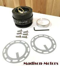 NRG Steering Wheel Quick Release Kit Gen 2.0 Model Black SRK-200BK