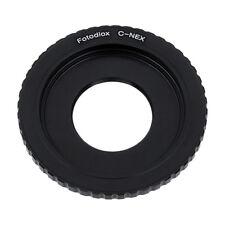 Fotodiox Lens Adapter C-Mount CCTV/Cine Lens to Sony E-Mount/NEX