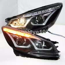 2013-2015 Year For FORD KUGA Escape LED Strip Head Lamps Headlights LD