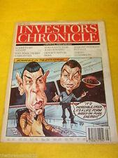 June Investors Chronicle News & Current Affairs Magazines