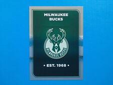 Figurine Panini NBA 2017-18 2018 n.122 Logo Milwaukee Bucks