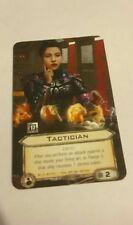 Star Wars Fantasy Flight Games X-Wing Promo card - Tactican