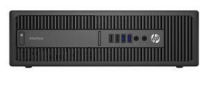 HP EliteDesk 800 G2 SFF Desktop Intel Core i7 6700 8G NEW 240GB SSD Win 10 Pro