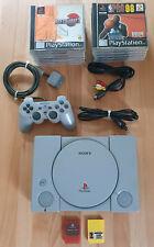 SONY Playstation 1 + Controller + 12 Spiele