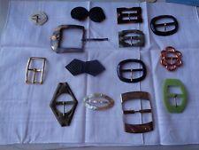 Lot de boucles de ceintures anciennes old belt buckles fd8daadf08c