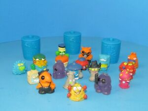 The Trash Pack Lot of 19 Trashies & 3 Garbage Cans Accessories Moose Toys L@@K