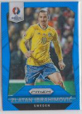 Panini Euro Cup 2016 Prizm Zlatan Ibrahimovic Blue Prizm 102/249