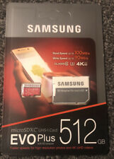 Samsung micro sd With Adapter 512gb
