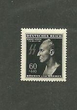 MNH Stamp / REINHARD HEYDRICH  / 1943 Nazi issue MNH / Hitler / Nazi Germany