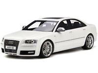 Audi A8 S8 Typ D3 4E 2008 ibis white diecast modelcar resin OT699 Otto 1:18