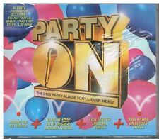 Party On The Only Party Album You'll Ever Need! 2xCDs+KaraokeDVD 2004 Precintado