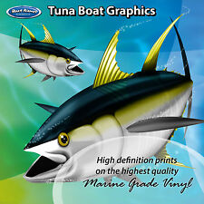 Tuna Graphics - set of 250mm Boat Graphics
