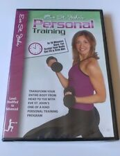 Personal Training with Eve St. John: Total Body Transformation (DVD Fitness) NEW