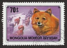 Finnish Spitz * Int'l Dog Postage Stamp Art * Unique Gift Idea *